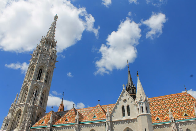 Matthias church in Pest, Budapest Hungary. Top things to do in Hungary on a budget