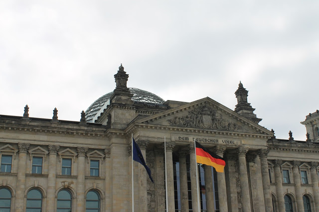 Berlin government building germany