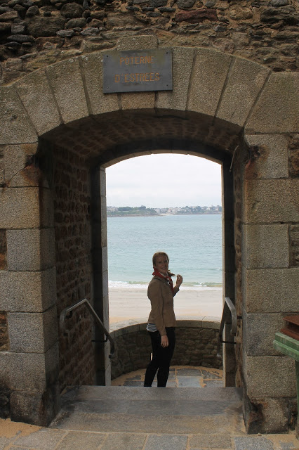 walking the walls of st malo france