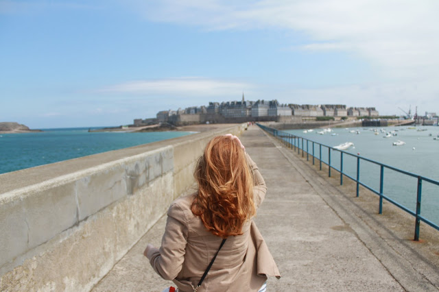 walled city of St Malo France