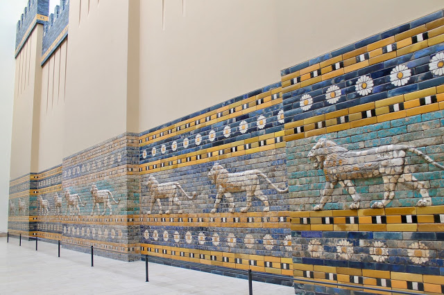 Main attraction at the Pergamon Museum on museum island in Berlin germany