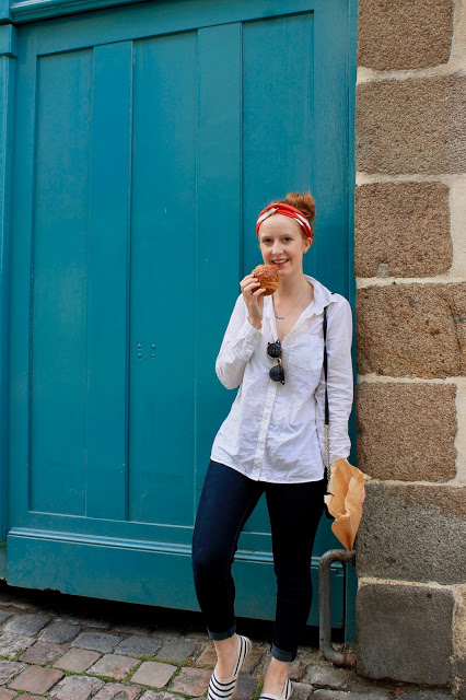 eating pastries in rennes france